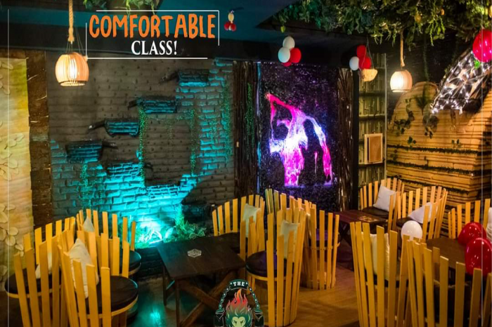 Jungle Lounge Comfortable Class - Aljannat Interiors