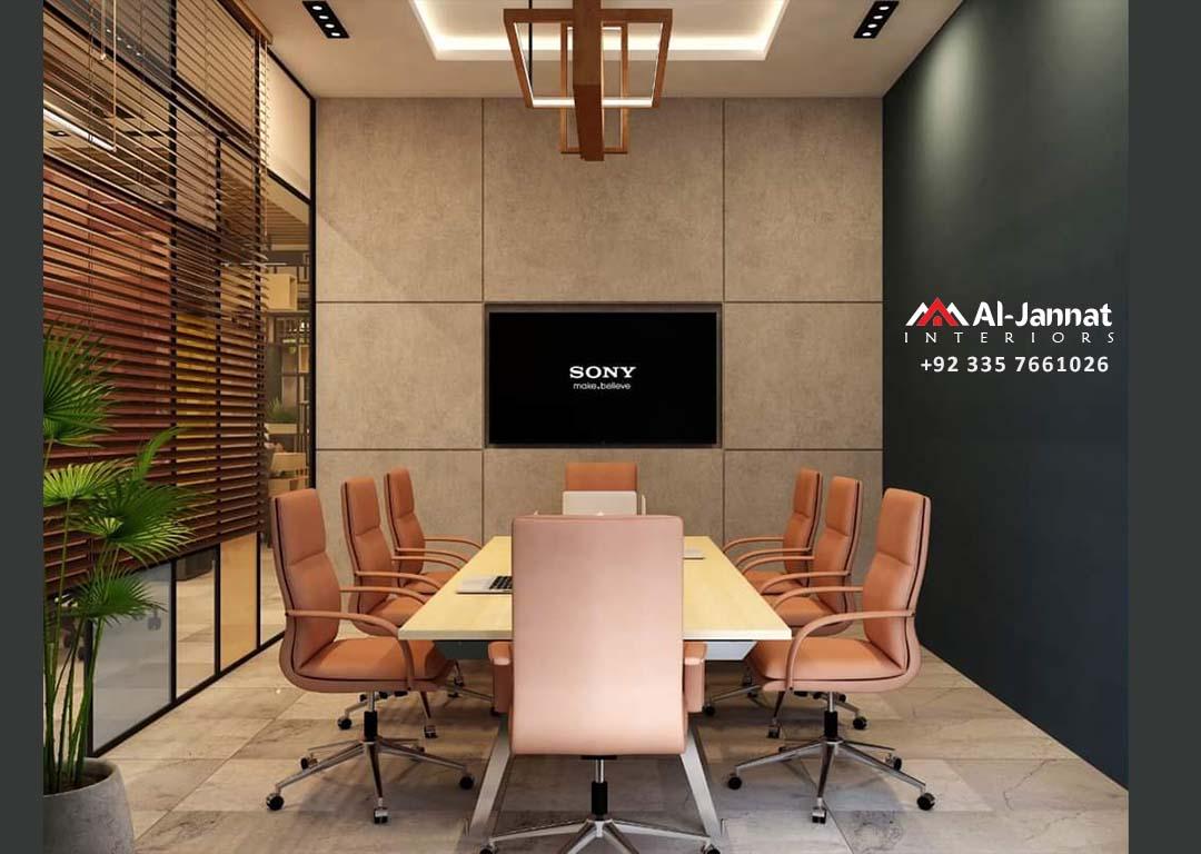 3D Office Design - Al-Jannat Interiors