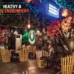 Jungle Lounge Lighting - Aljannat Interiors