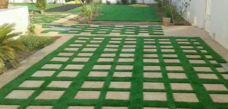 Artificial Green Grass - Al-Jannat Interiors